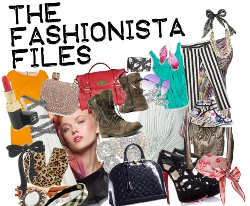 Fashionista files