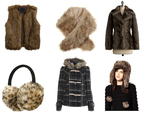 Faux Fur clothes and accessories winter 2011