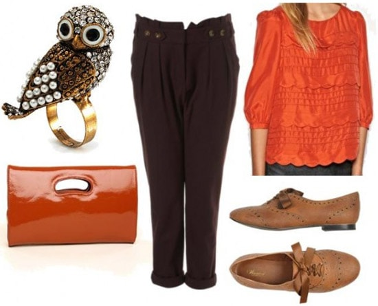 Dressy outfit inspired by Disney faerie Fawn