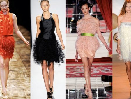 feathers trend