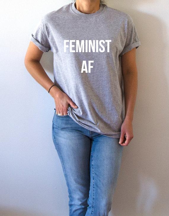 Feminist AF tee