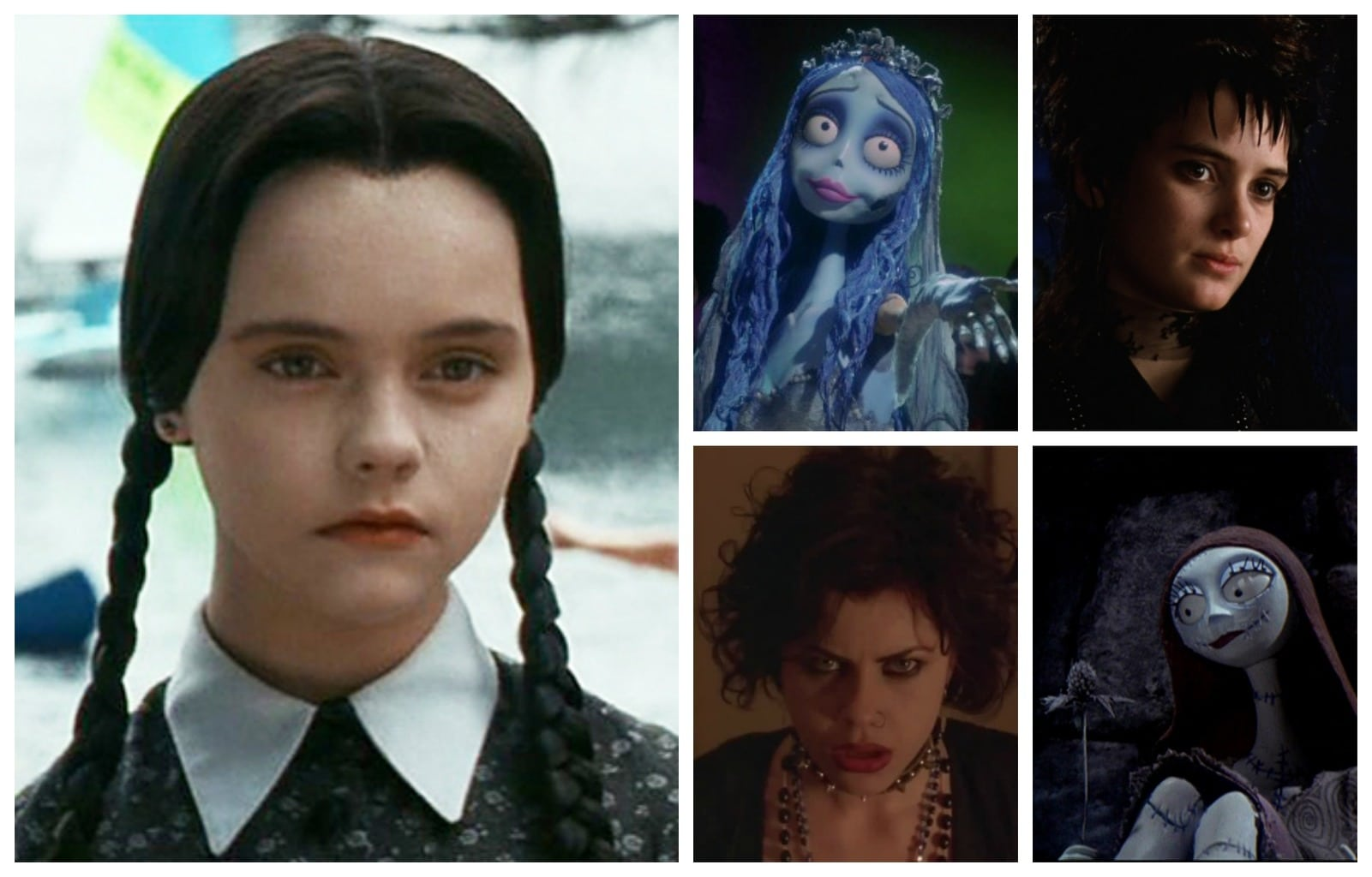 5 Fictional Goth Girls to Inspire Your Halloween Look