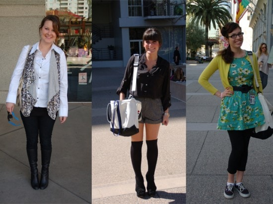 Student street style at FIDM