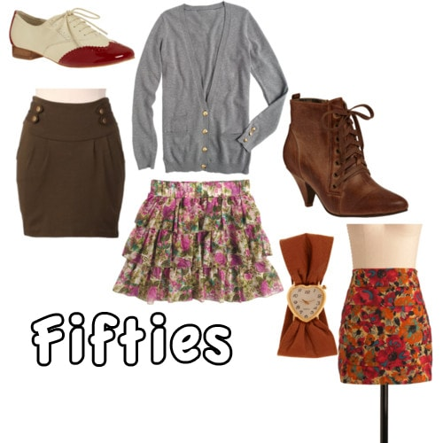 fifties style clothing