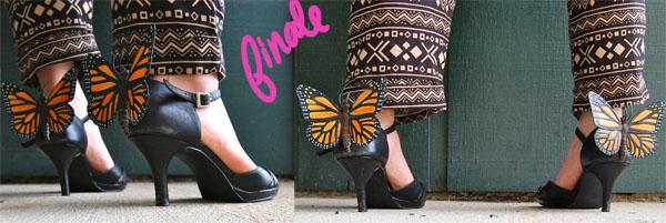 Finale DIY Butterfly Heels