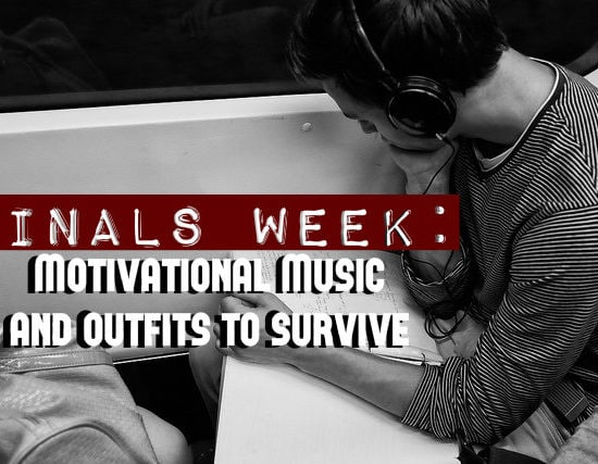 finals week title photo