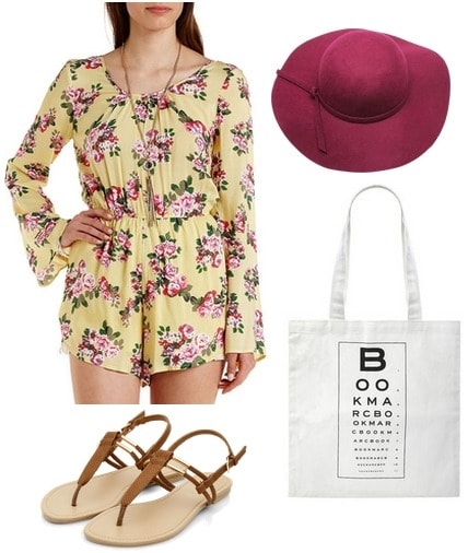 Finals Week Romper Outfit
