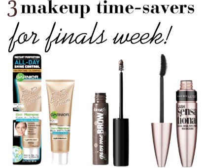 Finals week makeup