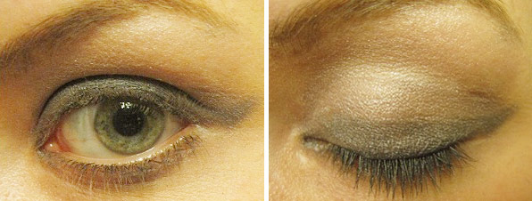 L'Oreal Paris The One Step Eyeshadow finished product