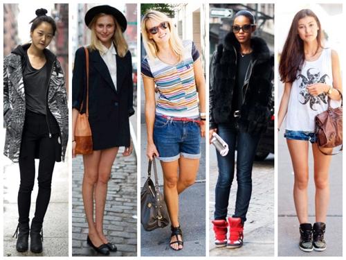 Five fashionistas