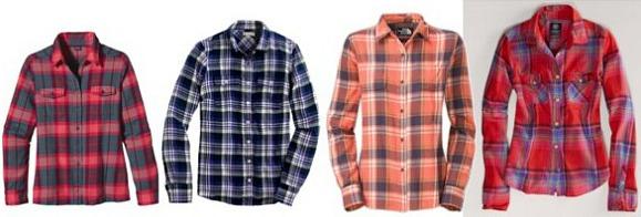 Flannel shirts wardrobe staple