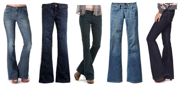 Flared jeans fall 2011 must-have