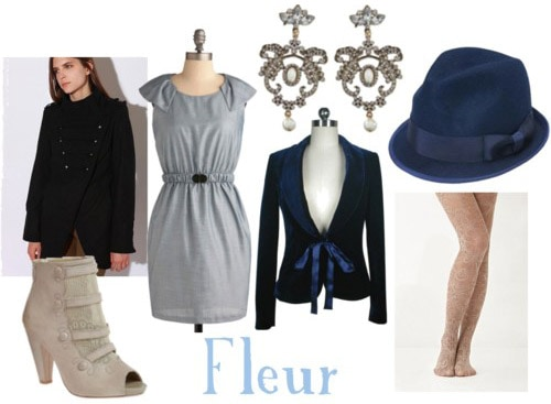 Outfit inspired by Fleur Delacour's style in Harry Potter and the Deathly Hallows Part 1