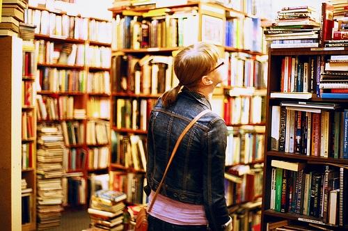 Flickr Bookstore Girl