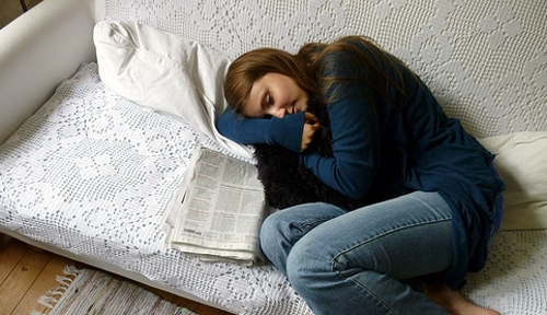 Flickr Girl Sleep