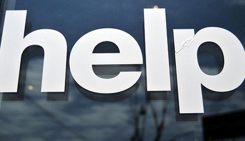 Flickr Help Sign