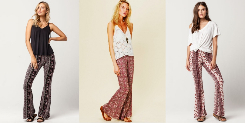 Fashion trend: Printed flare pants