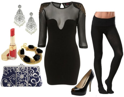 Fashionable outfit with a dress inspired by Florance and the Machine
