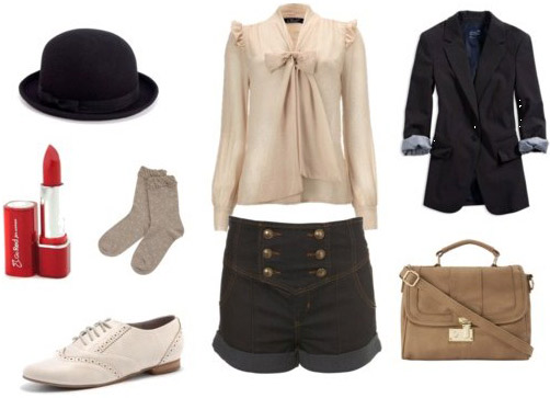 Florence Welch style - day outfit