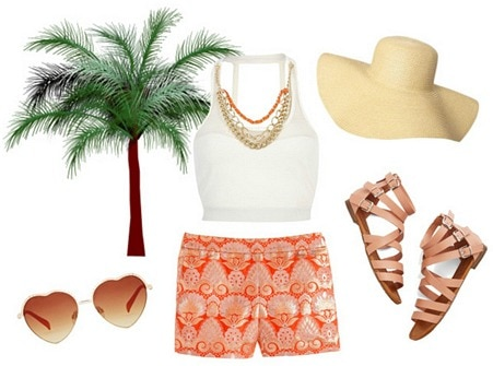 Florida vacation outfit