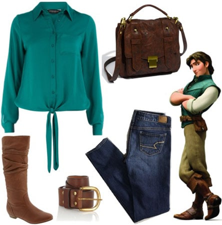 Outfit inspired by Flynn Rider from Disney's Tangled