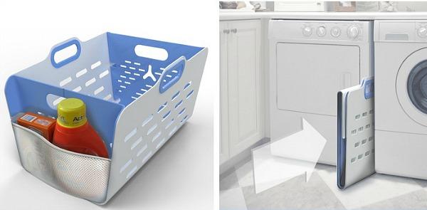 Fold up laundry hamper