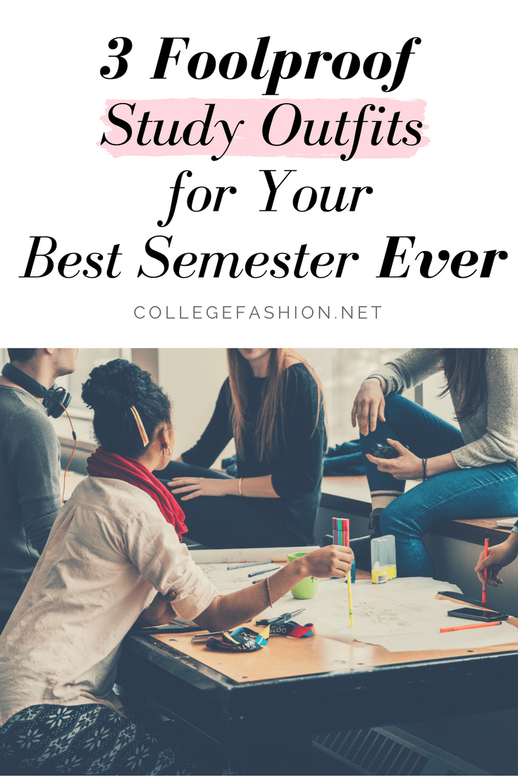 Study outfits for your best semester ever