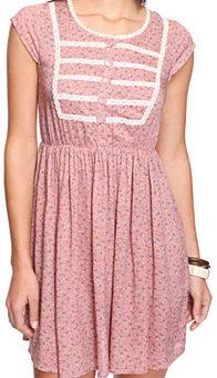 Forever 21 pink floral dress