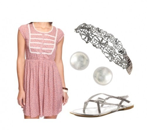 FOREVER-21-FLORAL-DRESS-SILVER