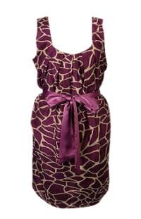 Forever 21 Giraffe print dress