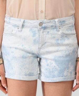 Forever 21 Tie-Dye Denim Shorts