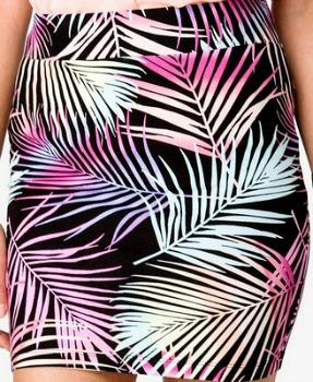 Forever 21 tropical print skirt