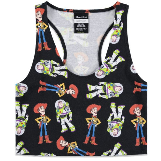Crop top from the Disney-Pixar x Forever 21 collection