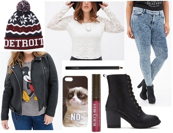 Forever21+ outfit