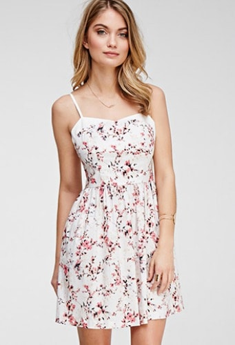A cute floral dress from Forever 21