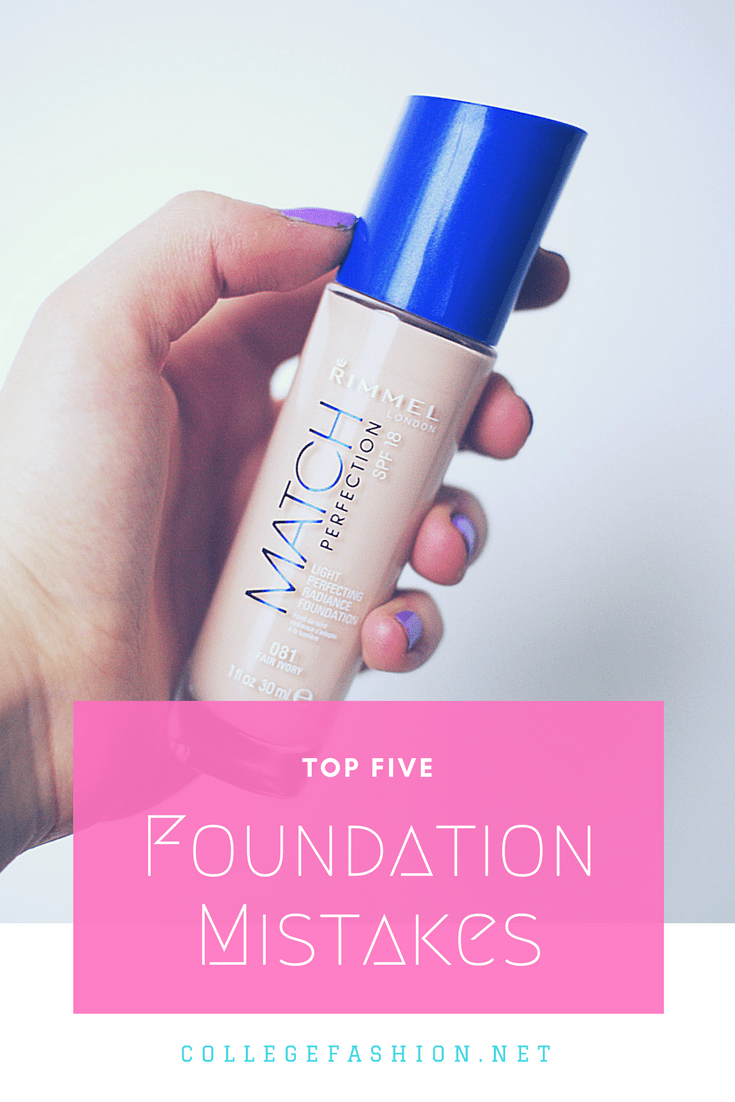 Are you making these common foundation mistakes?