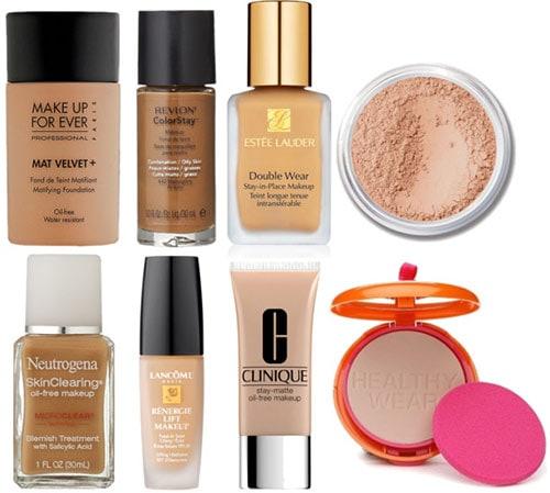 Foundations acne prone skin