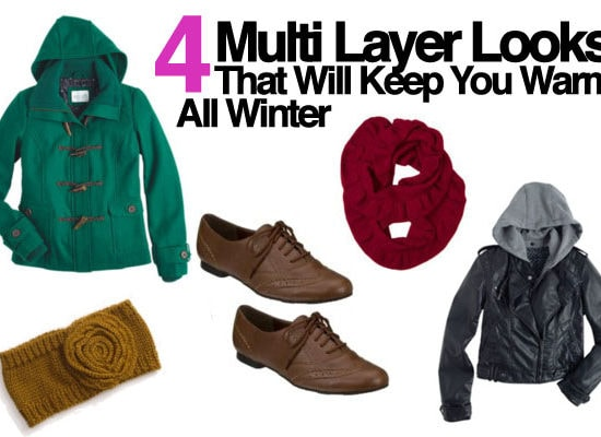 Four multi-layer looks for winter
