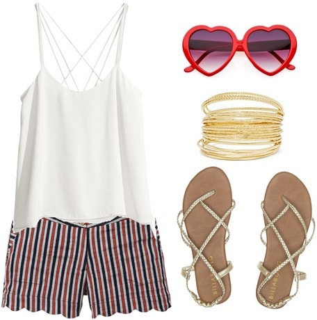 Fourth of July barbecue outfit