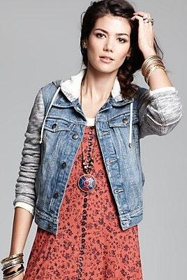 Fp mixed media jacket