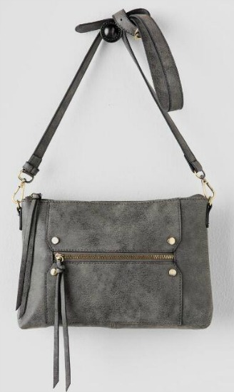 grey crossbody bag from Francesca's