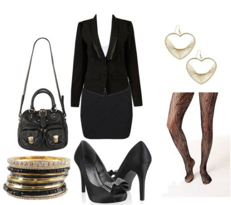 Fran Fine inspired outfit