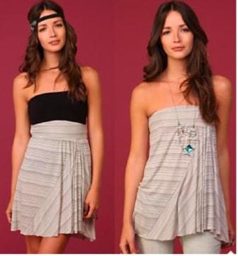 Free People Convertible Skirt