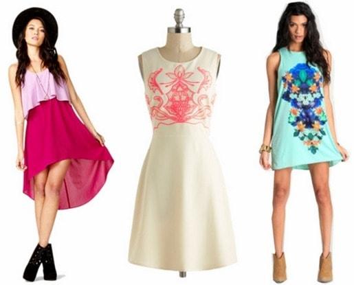 Freshman necessity dresses