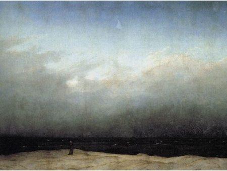 Friedrich monk sea