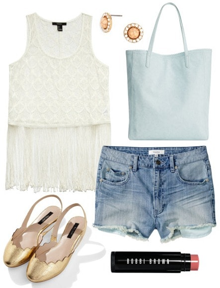 Fringe top class outfit