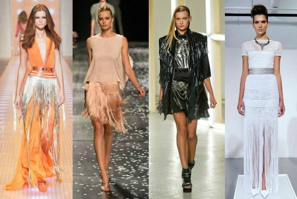 Fringe trend spring 2013 runway