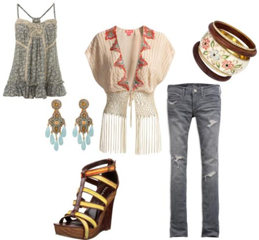 Fringed Jacket Outfit