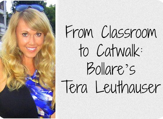From classroom to catwalk bollare's tera leuthauser