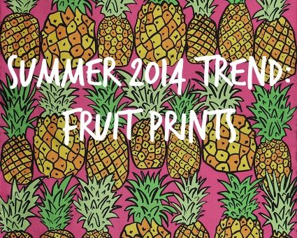 Fruit prints trend
